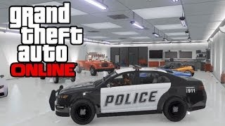 getlinkyoutube.com-GTA 5 Online - How To Save Police Cars, Firetrucks, Vans & MORE In Your Garage! GTA Online Glitch!