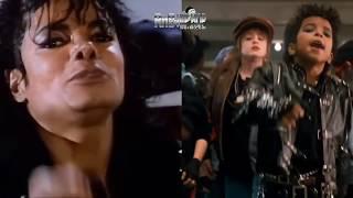getlinkyoutube.com-Michael Jackson Video Comparison / Kids Version of Bad Side by Side