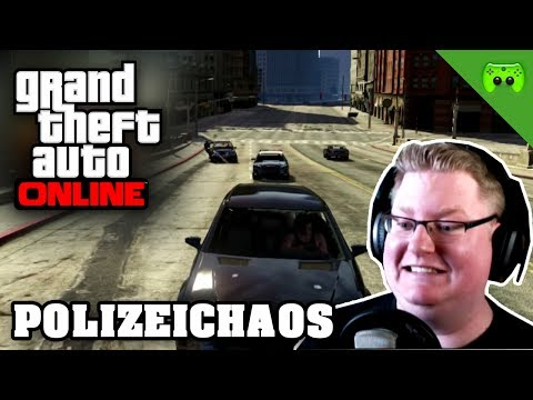 GTA ONLINE # 52 - Polizeichaos «» Let's Play Grand Theft Auto Online | HD
