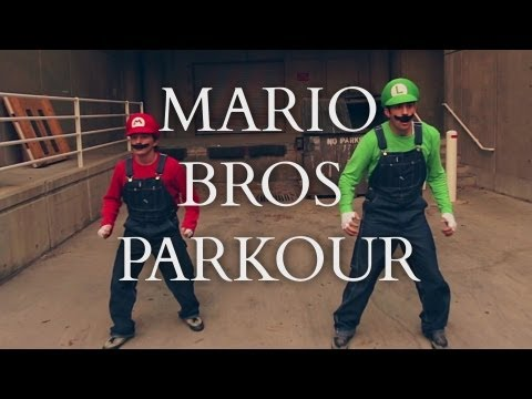 So Cool Super Mario Brothers Parkour [In Real Life] @warialasky
