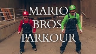 getlinkyoutube.com-Super Mario Brothers Parkour [In Real Life]