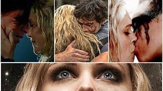 getlinkyoutube.com-The 100 - Clarke & Finn // Clarke & Bellamy // Clarke & Lexa
