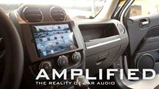 getlinkyoutube.com-Amplified - iPad mini in car dash of a Jeep Patriot, Polk Audio speakers Dodge Ram, EP 81