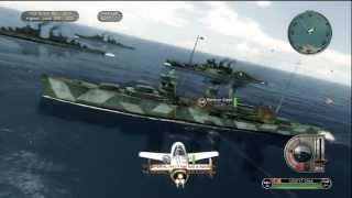 getlinkyoutube.com-Battlestations Pacific Kamikaze Gameplay
