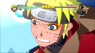 getlinkyoutube.com-Naruto Ultimate Ninja Storm 2 MOD - Sage Mode Naruto vs Kakuzu Boss Battle Character Swap