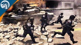 getlinkyoutube.com-INVASION: NEW YORK CITY | COD MOD | Men of War: Assault Squad 2 [MOD] Gameplay
