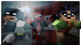 getlinkyoutube.com-Minecraft Olympics: Crafting Race w/ DeadPool! (Minecraft Roleplay)