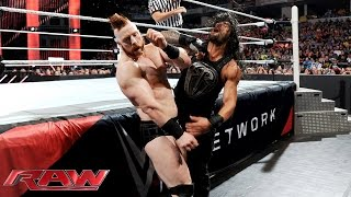 Roman Reigns vs. Sheamus: Raw, June 22, 2015