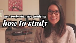My Comprehensive Guide on How To Study | Study Tips from a Med School Student width=