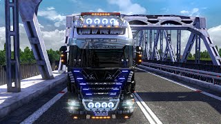getlinkyoutube.com-Euro Truck Simulator 2 - Scania R730 King Of The Road