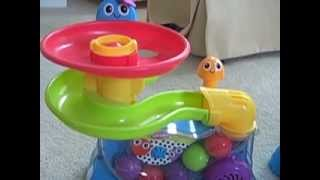 getlinkyoutube.com-Playskool Park Ball Popper Comparisons - Explore N Grow, Eelefun, Learn N Count Lion Toys Video