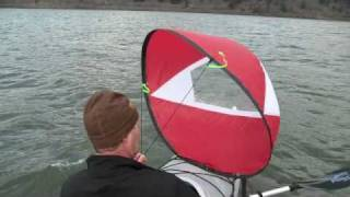 getlinkyoutube.com-WindPaddle Sails - Rigging and On-The-Water sailing instructions.