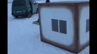 getlinkyoutube.com-Зимняя палатка для рыбалки