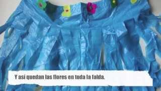 getlinkyoutube.com-Cómo hacer una falda hawaiana