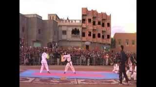 getlinkyoutube.com-Achbal Alkhir taekwondo spectacle alnif tinghir 2014 p2
