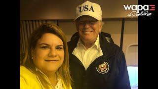 Jenniffer González defiende visita de Donald Trump a Puerto Rico