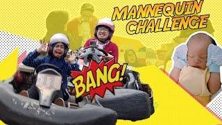 getlinkyoutube.com-MANNEQUIN CHALLENGE + BABY EL + RACING !! Wkwkwkk