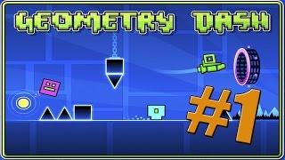 getlinkyoutube.com-Geometry Dash #1: Stereo Madness