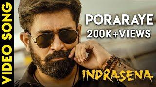INDRASENA - Poraraye Song Video   Vijay Antony   Radikaa Sarathkumar   Fatima Vijay Antony