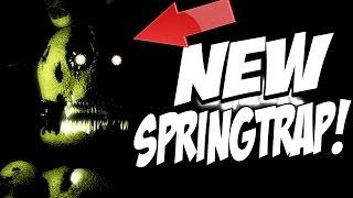 getlinkyoutube.com-INSANE NEW SPINGTRAP! | INSANITY (FNAF Fan Game) | NIGHT 1