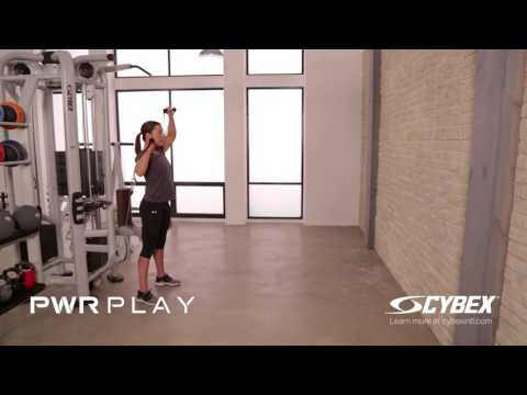 Cybex PWR PLAY - Reciprocal Unsupported Overhead Press