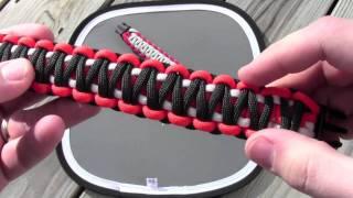 getlinkyoutube.com-3-Color King Cobra Paracord Bracelet