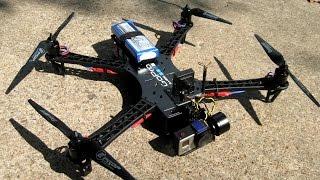 getlinkyoutube.com-Diatone Reptile 500 Test Flying (Through Trees!)