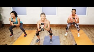 30-Minute Full-Body Workout to Burn Calories | Get Fit 2015 Challenge