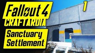 getlinkyoutube.com-Fallout 4 Sanctuary Settlement #1 - Base Building Timelapse - Fallout 4 Settlement Building [PC]