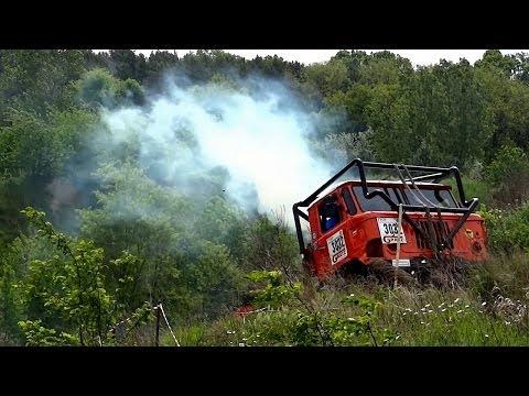 GAZ 66 4x4 Truck Trial Extreme Offroad Action Sound