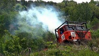 getlinkyoutube.com-GAZ 66 4x4 Truck Trial Extreme Offroad Action Sound