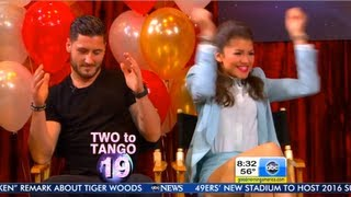 getlinkyoutube.com-GMA DWTS Afterparty ~ Two To Tango ~ 5-22-13 ~ Val Is On Point ~ SO Cute!