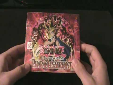 Best Yugioh Pharaoh's Servant 1st Edition Box Opening Ever!