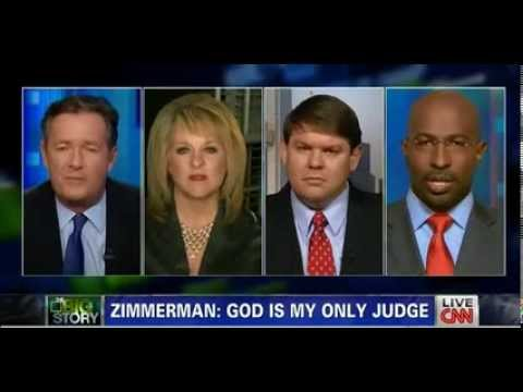 Piers Morgan Nancy Grace Attack George Zimmerman over Trayvon Martin case