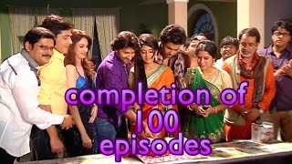 getlinkyoutube.com-Bhabhi Ji Ghar Par Hain and Begusarai cast celebrate 100 episodes completion