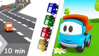 getlinkyoutube.com-Compilation di cartoni animati per bambini: le gare di corsa Parte 2