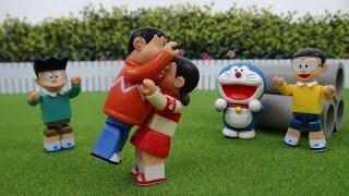 getlinkyoutube.com-ドラえもん おもちゃ アニメ しずかちゃんが大暴れ! Doraemon Toy Go on the rampage!