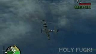 Ni penampakan UFOs di GTA SA.