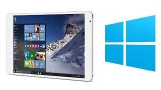 getlinkyoutube.com-Teclast X98 Pro Dual OS Windows 10 & Android 5.1 RAM 4GB - Windows 10 Test