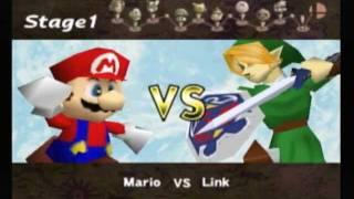 Super Smash Bros. Classic Mode (1P Game) [Mario]