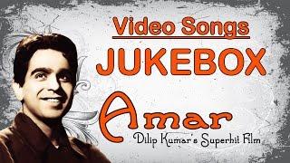 Amar | All Songs | Dilip Kumar's Superhit Film Songs |  Jukebox