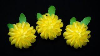 สอนพับเหรียญโปรยทาน ดอกเบญจมาศ (Chrysanthemum)