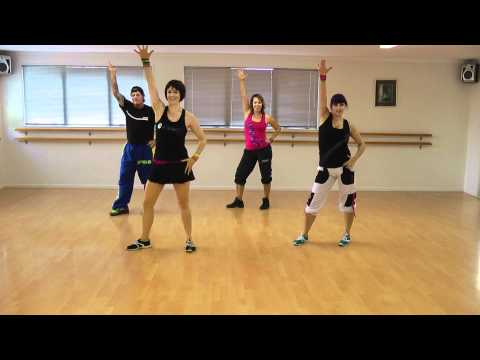 Zumba Fitness 'Shake Senora' dance Tauranga, New Zealand