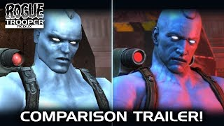 Rogue Trooper Redux - Graphics Comparison Trailer