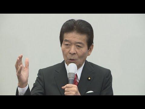 日本のこころ・中野代表が第一声 衆院選公示、22日投開票...