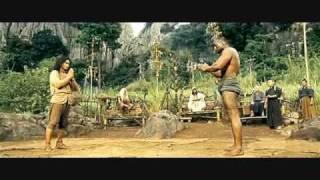 getlinkyoutube.com-Ong Bak 2 -- fight against trio.