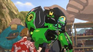 getlinkyoutube.com-Transformers US   Robots In Disguise: Perfect
