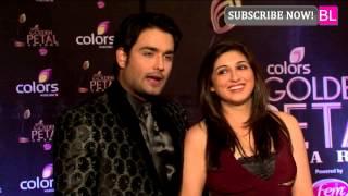 getlinkyoutube.com-Colors Golden Petal Awards - Vivian Dsena ( Rishabh Kundra/RK) | Madhubala