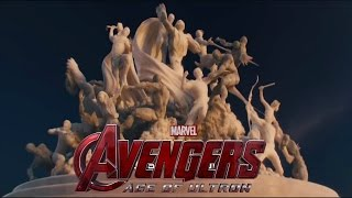 Avengers: Age of Ultron End Credits Scene Music Metal Edition