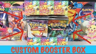 getlinkyoutube.com-Pokemon Cards - Custom Booster Box Opening! ALL 36 PACKS! MY VERY OWN BOOSTER BOX!